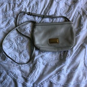 Marc by Marc Jacobs cream over the shoulder bag
